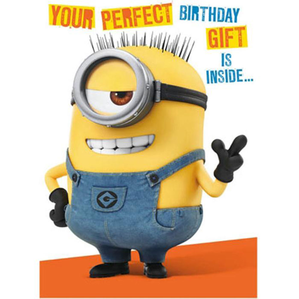 Minions Movie Happy Birthday Grandson Birthday Card New Gift Despicable Me Elipesa Com