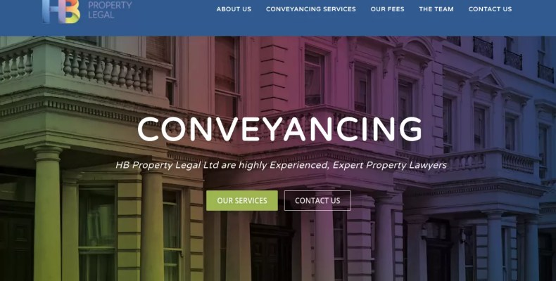 HB Property Legal Conveyancing Services Manchester
