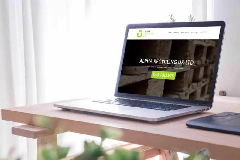 Alpha Recycling Website Design by Character Creates
