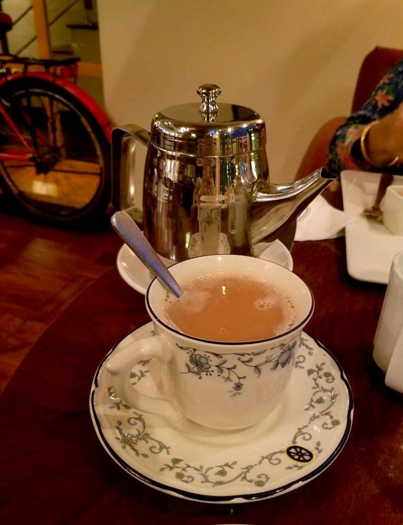 English Tea House More Than A Cafe Charcoal Gravel