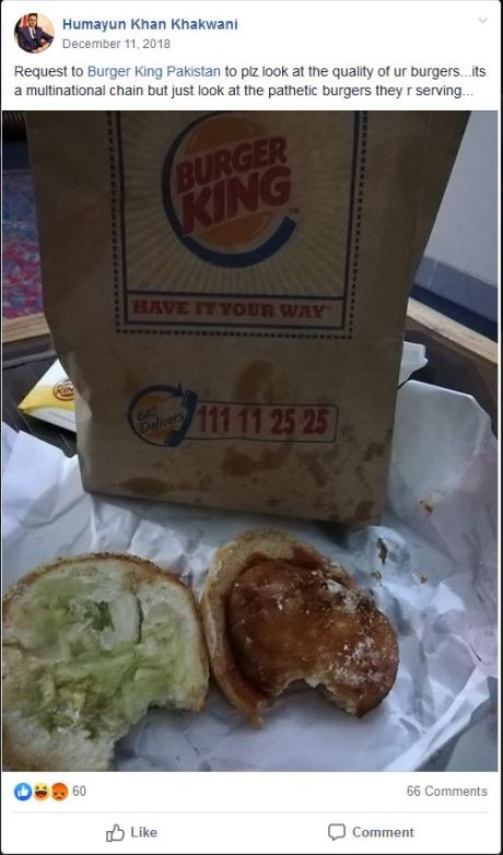 burger king impossible whopper pakistan