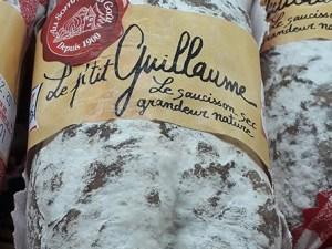 Saucisson Sec Le Petit Guillaume