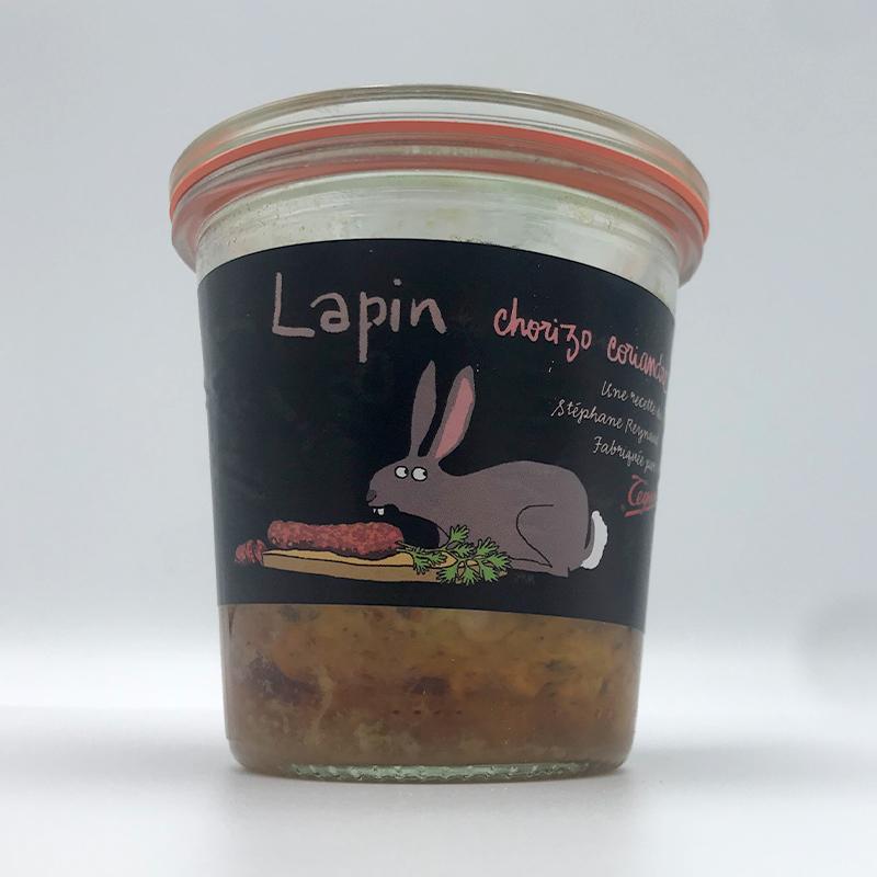 Teyssier Terrine Pate Lapin Chorizo Konijn en Chorizo Online kopen