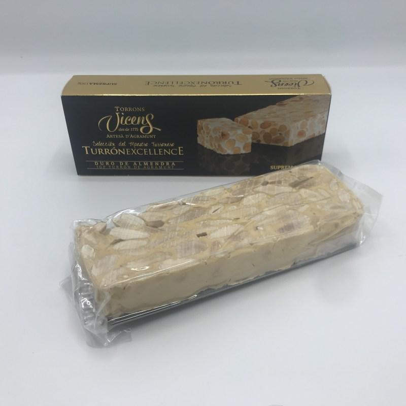 Spaanse Nougat of te wel turron. Turron Duro is harde Turron gemaakt van hele amandelen, honing en eiwit. Bestel direct online.