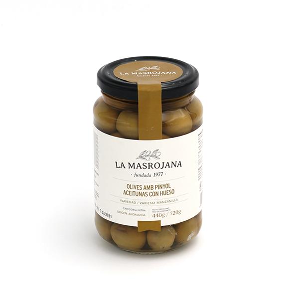 La Masrojana manzanilla olijven met pit online bestellen