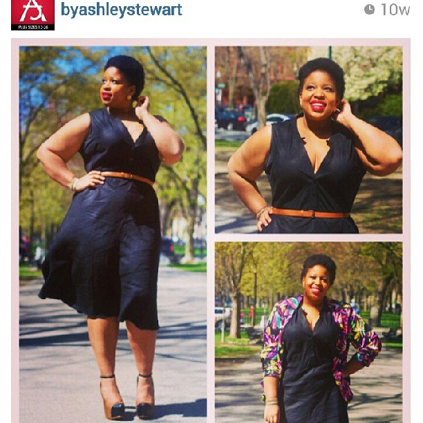 Ashley Stewart allowed me to be part of a styling contest and I WON!