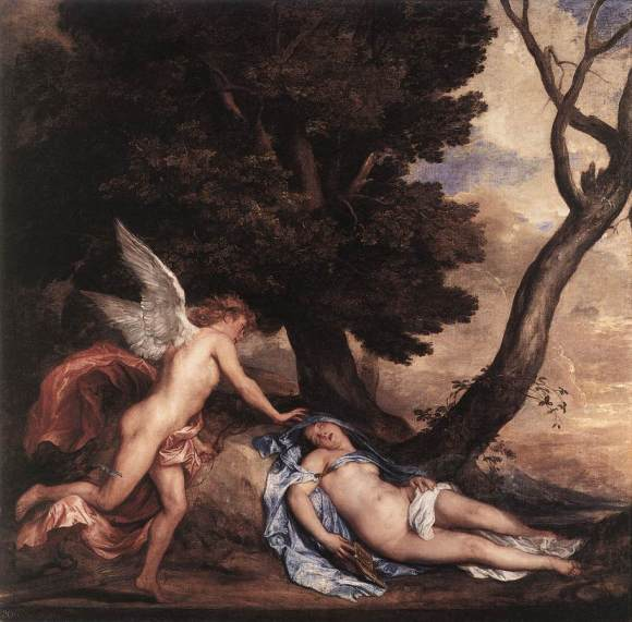 Cupid and Psyche - Sir Anthony van Dyck (1639-40)