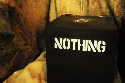 Nothing 2 See | Nothing on Degraded Canvas