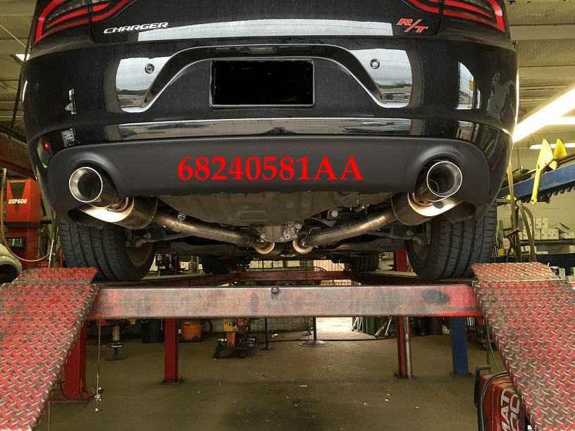 15 18 dodge charger police dual exhaust