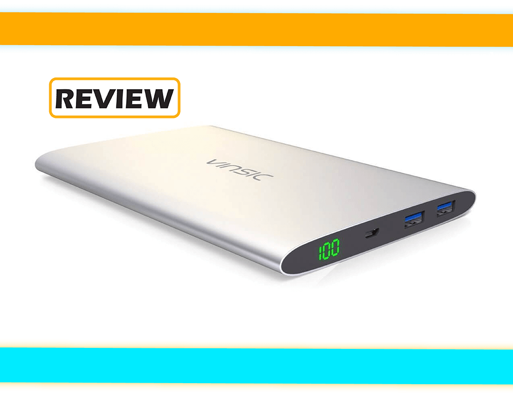 Vinsic 20,000mAh Power Bank Review