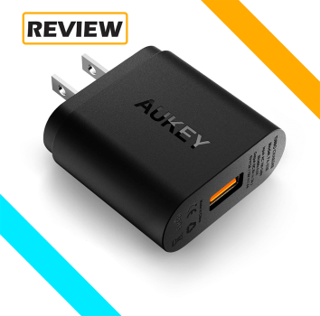 Aukey 1 Port Wall Charger with Quick Charge Review