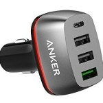Anker PowerDrive+ 4 Ports with USB-C and Quick Charge