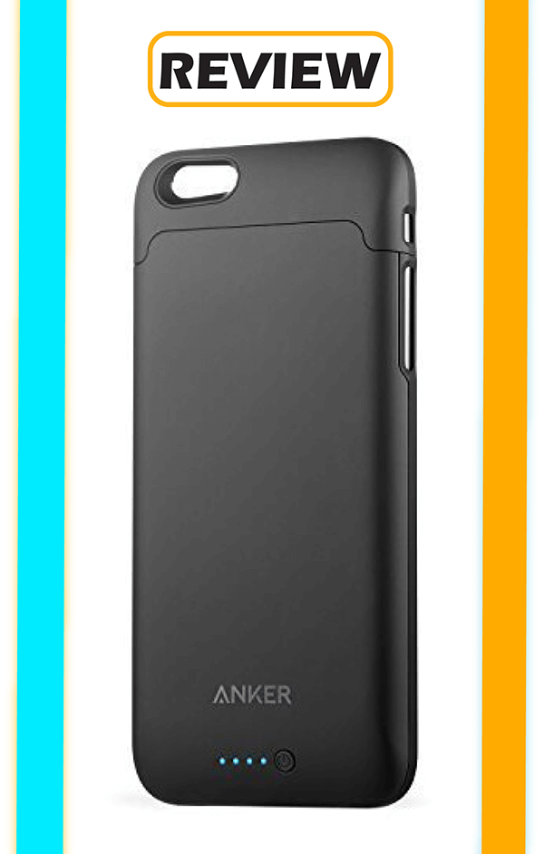 the best attitude 400fb c7cd5 Anker Ultra Slim Battery Case for iPhone 6/6s