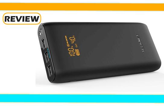 TeckNet PowerTitan T2 19,200mAh Portable Charger