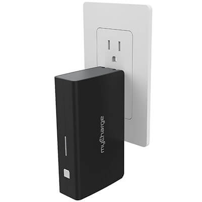 myCharge AmpProng Plus 6,000mAh Power Bank