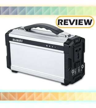Suaoki 220Wh/20,000mAh Portable Generator Power Supply Review
