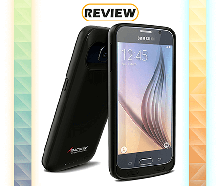 the best attitude 44106 e63ee Review: Galaxy S6 Alpatronix 3,500mAh Battery Case - Charger Harbor