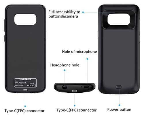 promo code f15cd ec98c alaxy S8 5,000mAh VPROOF Battery Case