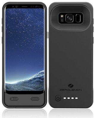 premium selection f6dc0 7f59c ZeroLemon 8,500mAh Galaxy S8 Battery Case
