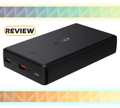 Aukey 26,500mAh Power Bank with USB-C Power Delivery and Quick Charge 3.0 Review