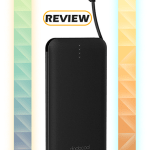 Dodocool 10,000mAh Power Bank with USB-C Adapter