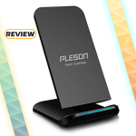 PLESON Cell Qi Fast Wireless Charging Pad Stand