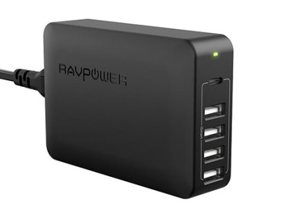 RAVPower 5-Port Power Delivery USB-C Charging Station