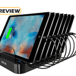 Skiva 84W 7-Port USB Charging Station with 2.4 Amp Ports Review
