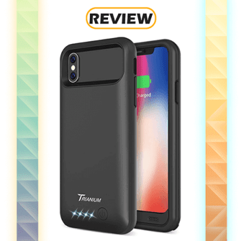 Trianium Atomic Pro 4,000mAh iPhone X Battery Case Review
