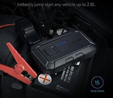 Anker PowerCore Jump Starter Mini 400A Peak 9,000mAh Portable Charger