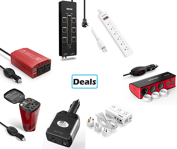 Deals: Bestek Power Inverters and Surge Protectors on Sale