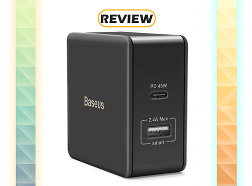 Baseus 45W USB-C Power Delivery Wall Charger Review
