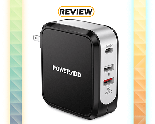 PowerAdd 3-Port USB-C / Quick Charge 3.0 Wall Charger Review