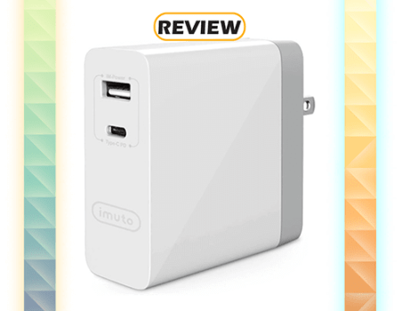 iMuto 2-Port 45W USB-C Power Delivery Wall Charger Review