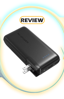 RAVPower 10,000mAh 2-in-1 Wall Charger Power Bank with AC Plug Review