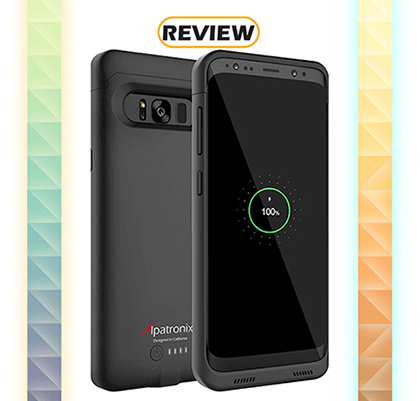 Alpatronix Galaxy S8 4,500mAh Battery Case Review