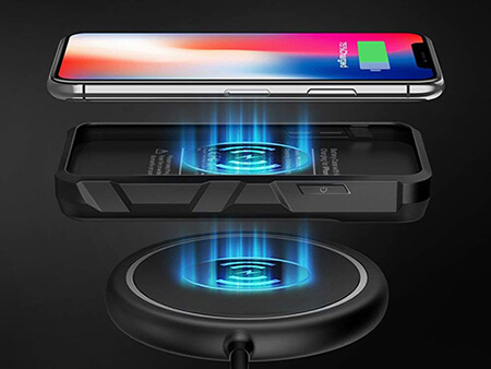 the latest 1e1df 2af72 EasyAcc 5,000mAh Wireless Charging iPhone X Battery Case