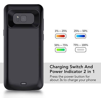 samsung galaxy s8 charging case