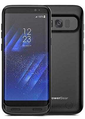 san francisco cfe39 6bfb2 PowerBear Galaxy S8 4,500mAh Battery Case