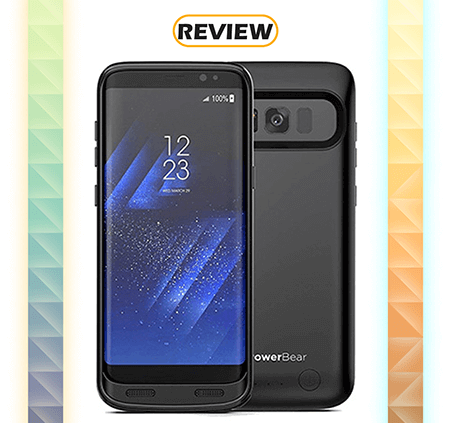 PowerBear Galaxy S8 4,500mAh Battery Case Review