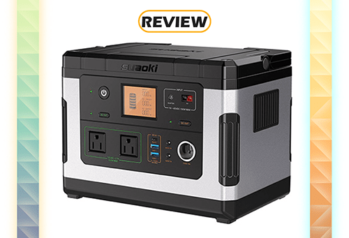 SUAOKI G500 Portable Power Station with 300W AC Inverter Review