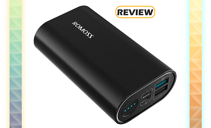ROMOSS 10,000mAh 18W Power Delivery Portable Charger with Quick Charge Review