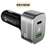Trianium 45W USB-C Power Delivery Car Charger with Quick Charge Review