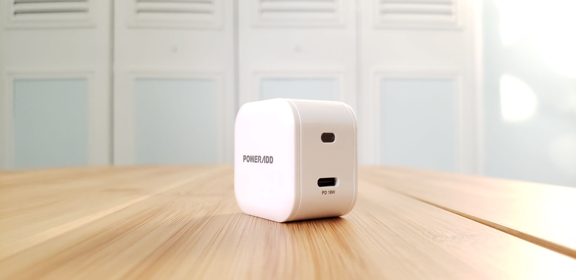 PowerAdd 18W Power Delivery Mini Wall Charger