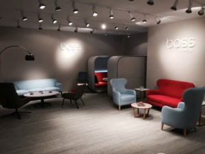 Flexible third space zone collections from BOSS design group (Photo: BOSS design)