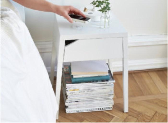 wireless charging in furniture - the Ikea MORIK
