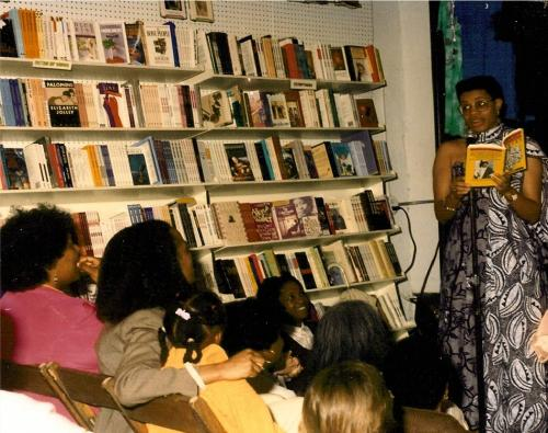 Shay Youngblood At A Book Reading