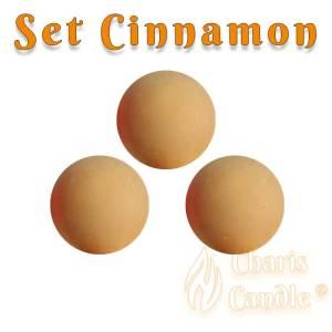Charis Candle ® - Set Cinnamon