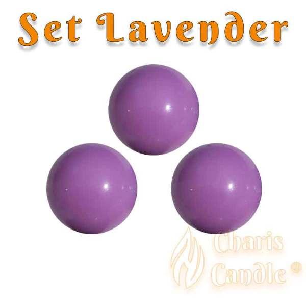 Charis Candle ® - Set Lavender