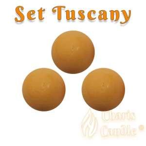 Charis Candle ® - Set Tuscany